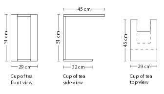 Beistelltisch Cup of tea