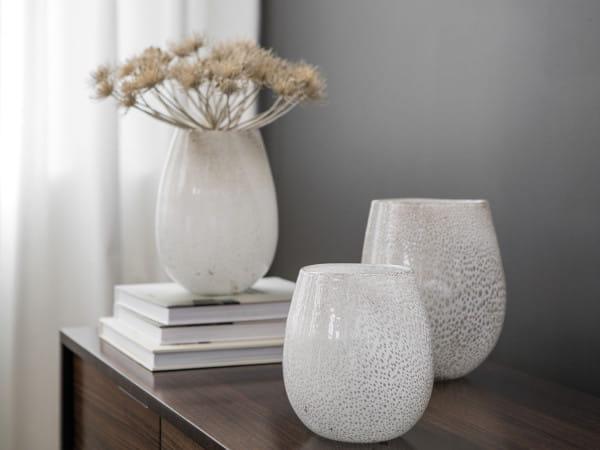 Fink Living Vase/Windlicht Silva - Creme, Ambiente
