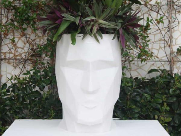 beleuchteter Blumentopf Adan - 100 cm