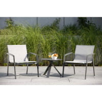 Stern Loungesessel New Top - Anthrazit / Silber, Ambiente