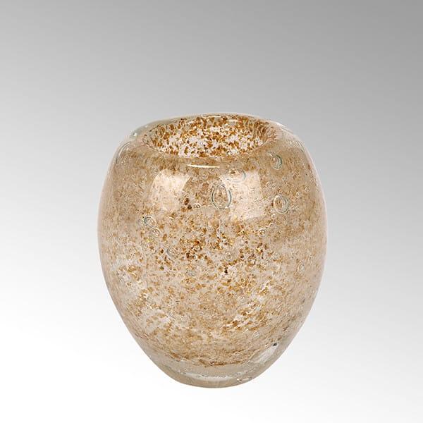 Windlicht Salviato von Lambert Gold - Höhe 10 cm