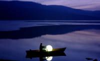 Moonlight Vollkugel Akkuleuchte BMFL Weiß Ambiente Boot See