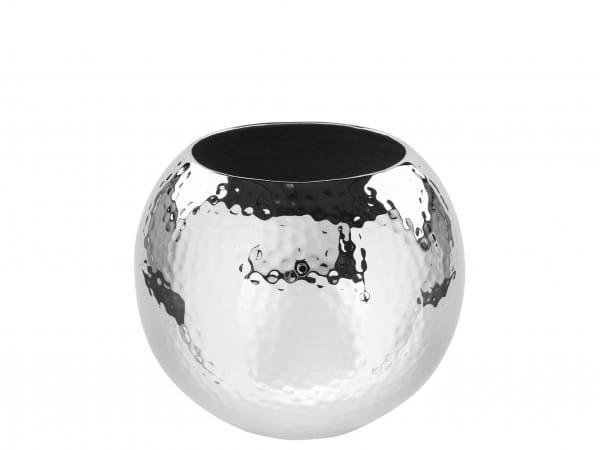 Fink Living Vase Moon - gehämmert, 16 cm Durchmesser