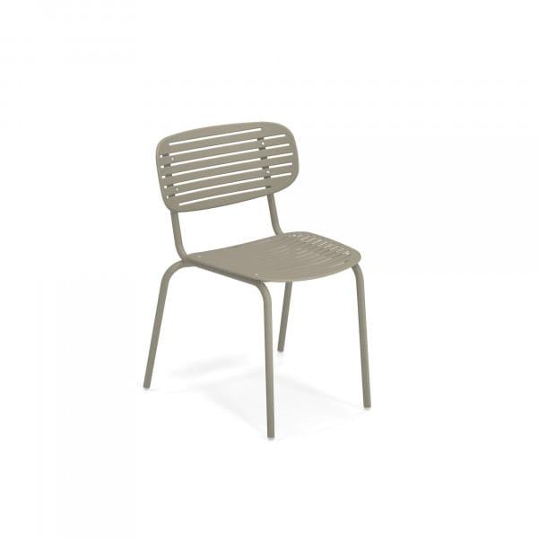 emu Outdoor Stuhl Mom ohne Armlehne - 37 Grau/Grün