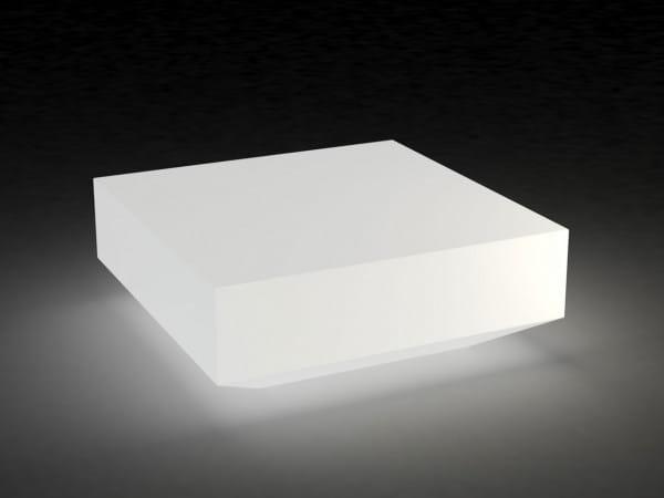 Beleuchteter Couchtisch Vela - 100 x 100 cm