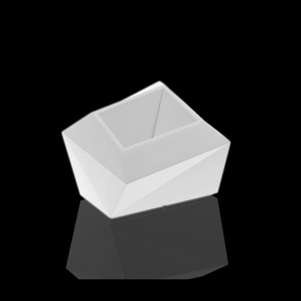 Beleuchtetes Pflanzgefäß Faz XL - 60 cm
