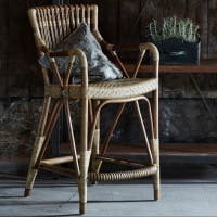 Sika Design Originals Barhocker Blues Rattan Antik