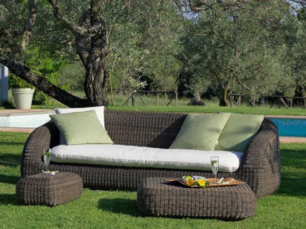 3-Sitzer-Gartensofa Phorma