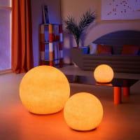 Moonlight Vollkugel Akkuleuchte BMFL Sandstein Farbfilter Ambiente Wohnzimmer