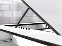 Moderne Sonnenliege Riva - conmoto 6-fach verstellbar