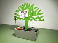 Ladestation/Schlüsselhalter Tree of Charge