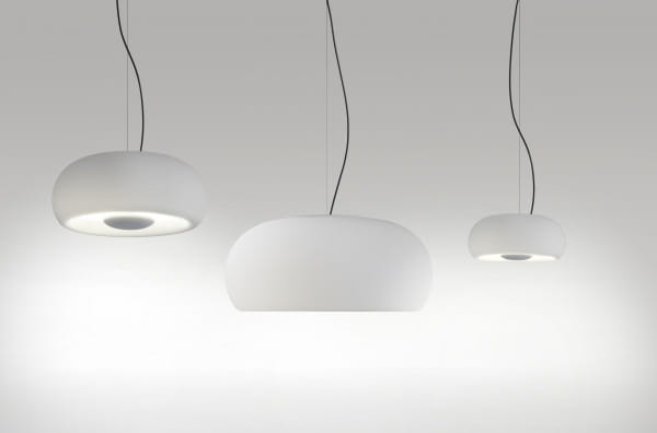 marset Pendelleuchte LED Vetra Weiß Vergleich Größen (20, 32, 43)
