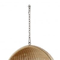 Sika Design Icons Hanging Egg aus Rattan Natur - Kette