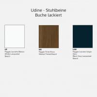 Italienischer Design Stuhl Udine - Wood-2