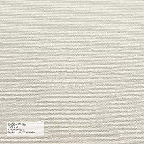 Sika Design Exterior Hocker Monet Alu Outdoor - Kissen White