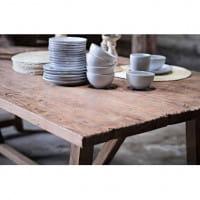 Sika Design Esstisch Lucas in 2 Größen - recyceltes Teakholz