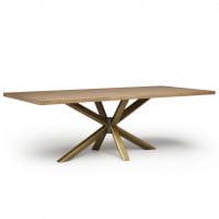Italienischer Design Esstisch Roma Wood