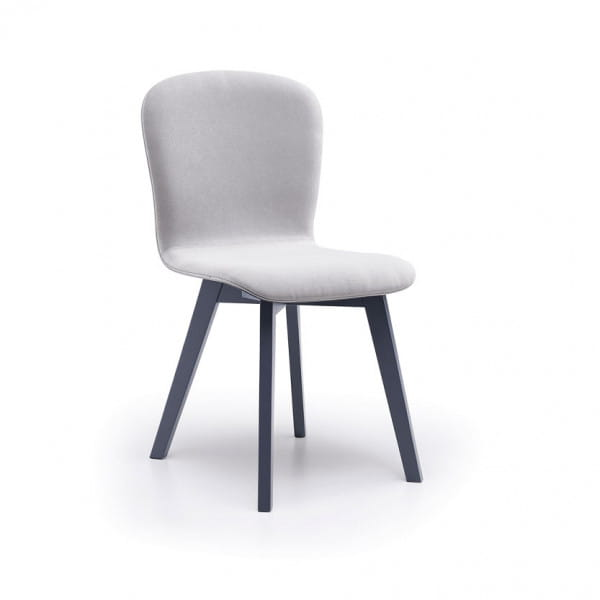 Italienischer Design Stuhl Milano - Wood-2