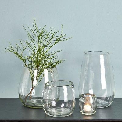 Windlicht Vase Pisano von Lambert verschiedene Größen - Klarglas
