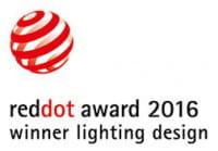 RedDot award 2016 winner lighting design