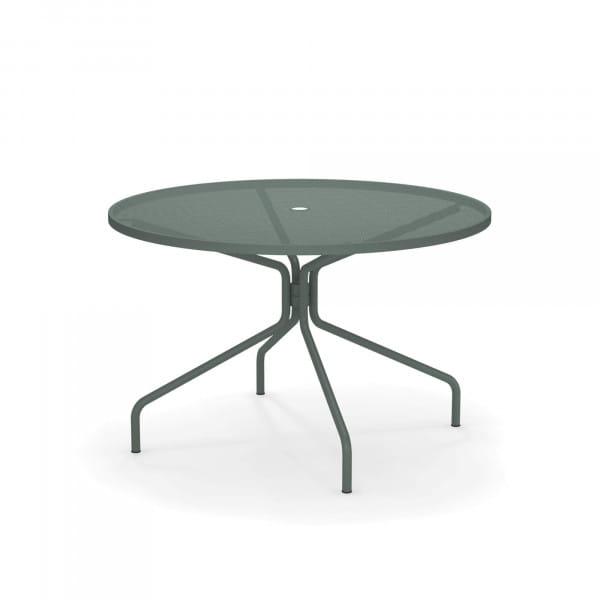 emu Outdoor Cambi Gartentisch rund - 75 Dunkelgrün - Beispielbild