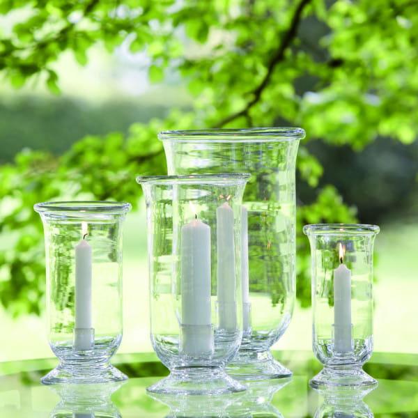 Lambert Mallorca Windlicht Vase Klarglas - 2 Größen