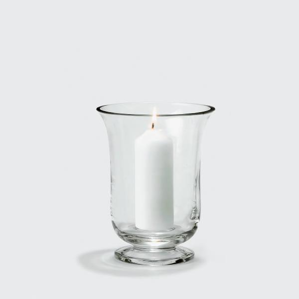Lambert Mallorca Windlicht Vase Klarglas - Höhe 19 cm