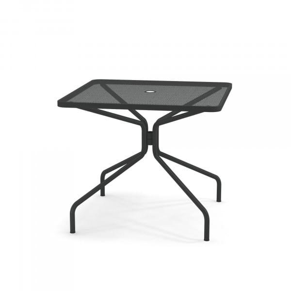 emu Gartentisch 90x90 - 22 Antikeisen - von hinten