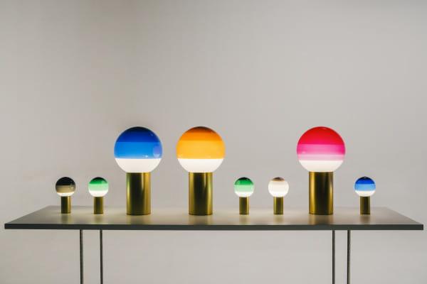 marset Tischleuchte LED Dipping Light Vergleich Farben und Größen