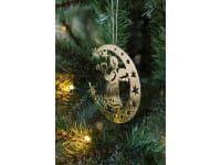 Weihnachtsbaumschmuck Hänger Luno gold - B-Ware