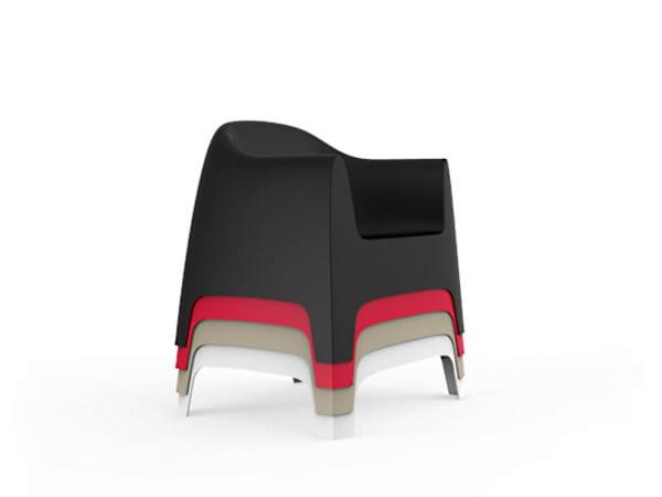 Stapelbarer Loungesessel Solid