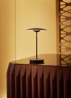 marset Tischleuchten LED Ginger 20 M Ambiente Wenge Tisch warm