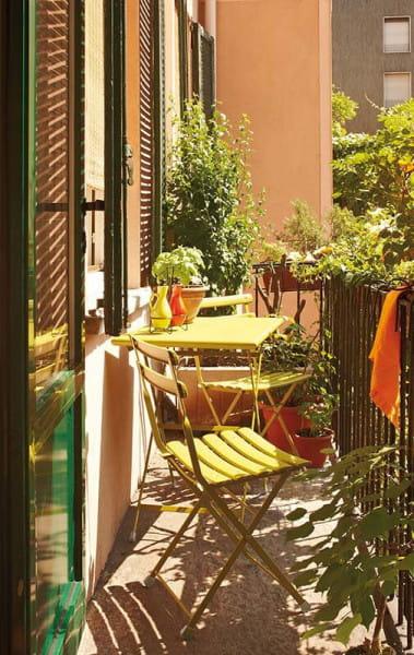 emu Arc en Ciel Gartentisch niedrig - Ambiente Beispiel 3