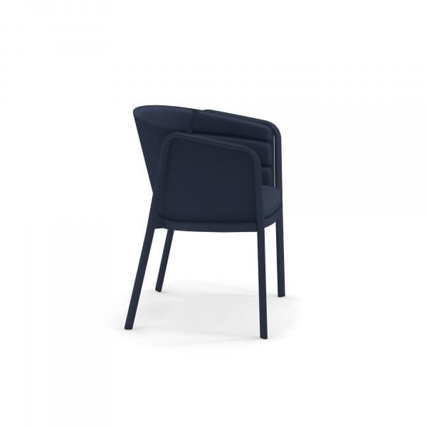 emu Carousel Armlehnstuhl - 48-500/29 Dunkelblau - Blau - seitlich