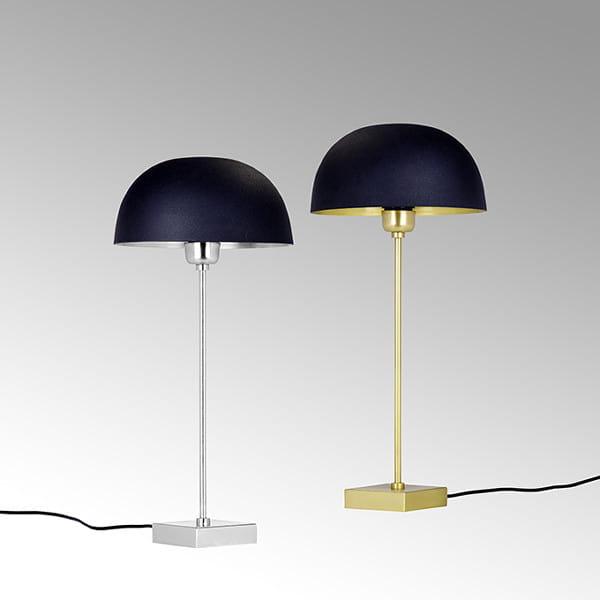 Lambert Tischlampe Chelsea in gold oder silber