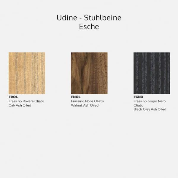 Italienischer Design Stuhl Udine - Metall