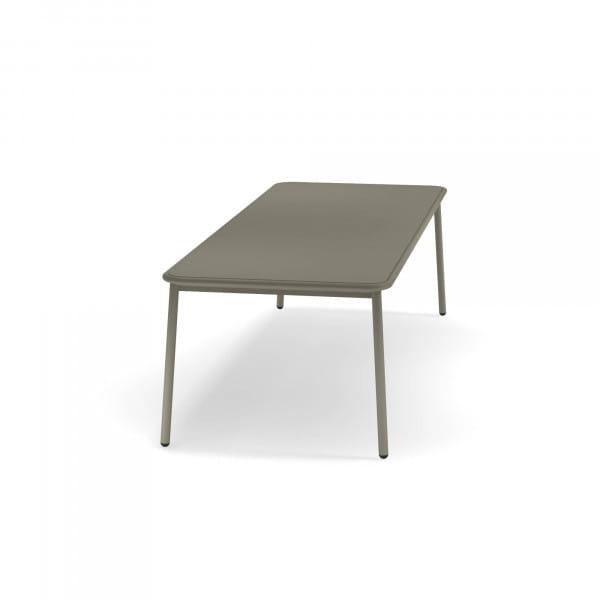 emu Outdoor Gartisch Yard ausziehbar 160 x 98 cm - 37 Grau/Grün