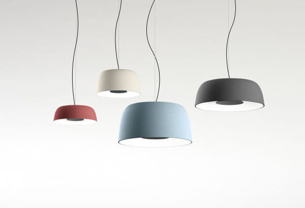 marset Pendelleuchte LED Djembe Vergleich alle Farben & vier Größen