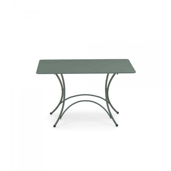 emu Outdoor Gartentisch Pigalle 120 x 76 cm (klappbar) - 75 Dunkelgrün