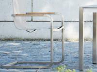 Freischwinger Gartenstuhl Lux