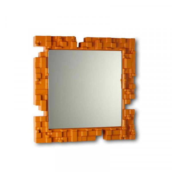 Wandspiegel Pixel - Orange