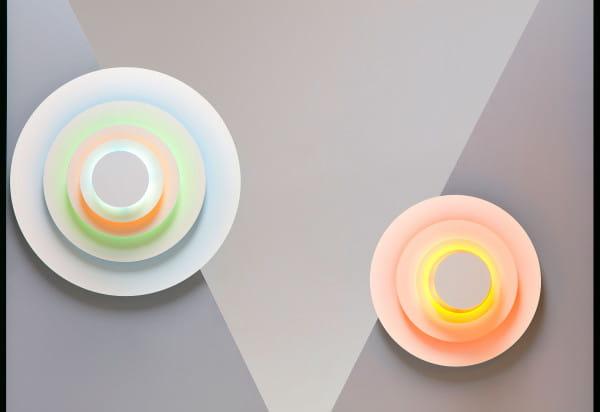marset Wandleuchte LED Concentric Minor und Major Ambiente Stlilleben Wand