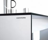 conmoto Design Esstisch Riva Weiß