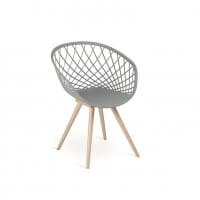 Italienischer Design Stuhl Bergamo
