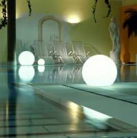 MAG Aufschraubsockel Ambiente Indoor Poolseite Weiß