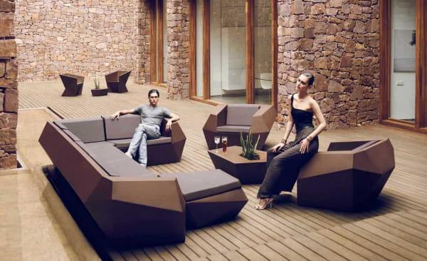 Sofa-Element Faz - Rechts