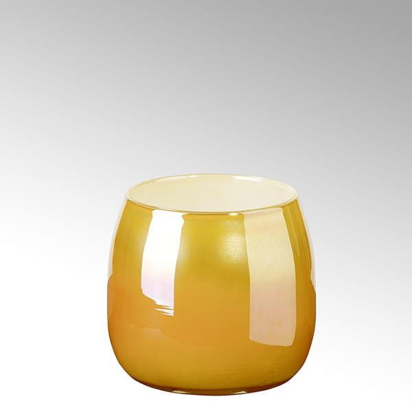 Vase Porto von Lambert Sunrise Metallic 18 cm hoch