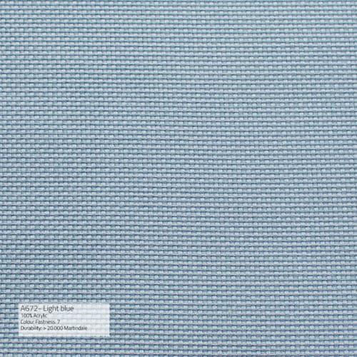 Sika Design Exterior Hocker Monet Alu Outdoor - Kissen Light Blue