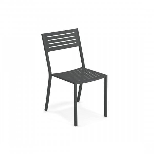 emu Outdoor Stuhl Segno (ohne Armlehne) - 22 Antikeisen