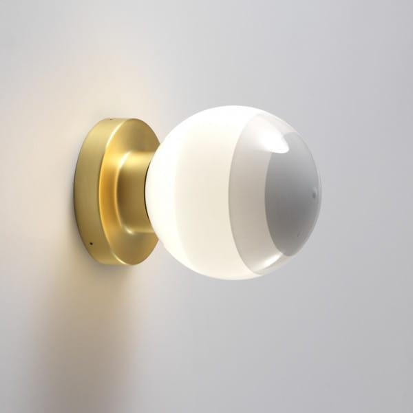 marset Wandleuchte LED Dipping Light A2-13 Perlweiß